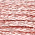 soft pink embroidery floss