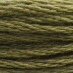 moss green embroidery floss