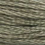 gray green embroidery floss