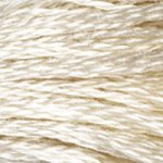 cream embroidery floss