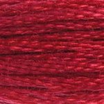 cherry red embroidery floss