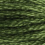 forest green embroidery floss