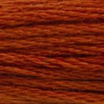 red orange embroidery floss