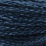 dark blue embroidery floss