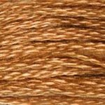 gold brown embroidery floss