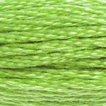 green embroidery floss