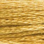 dark gold embroidery floss