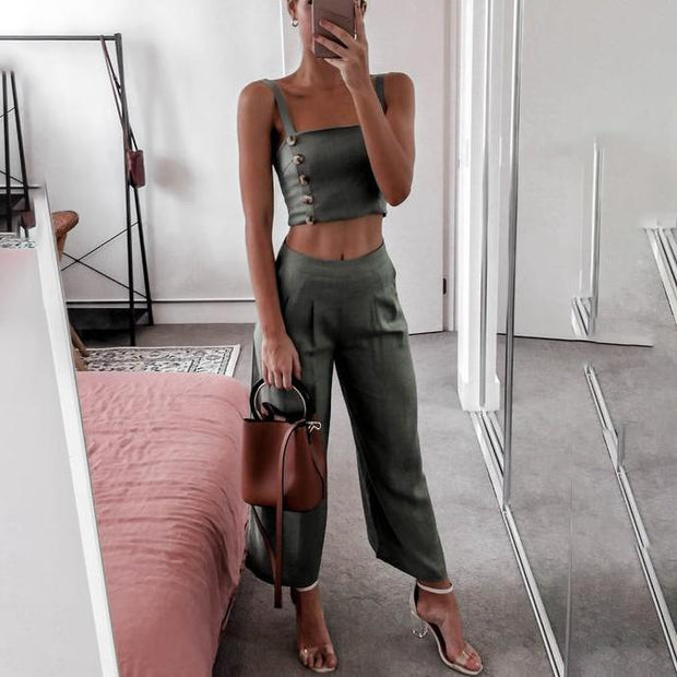 Camisole Casual Two Piece Set