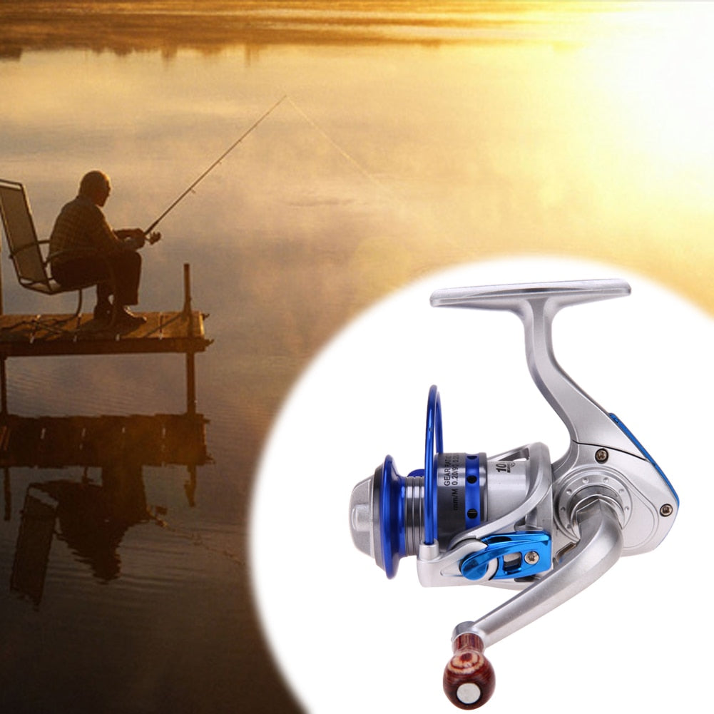 Right Handle 3.6:1 Saltwater Ice Fishing Reels Spinning Line Drum Wheel TB Liner