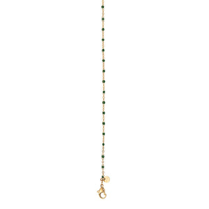 Collier 3 Coloris Perles Vertes - iXXXi