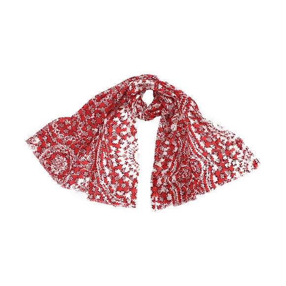 Foulard/Paréo Sable Rouge - Lobster