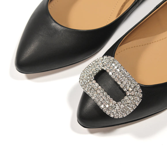 Clips chaussure strass