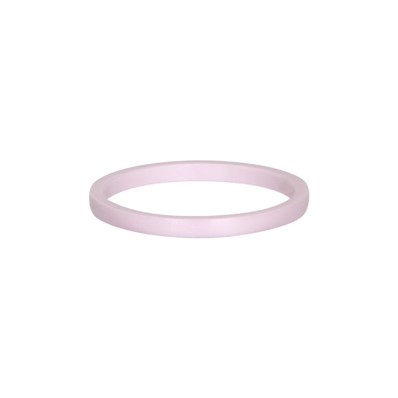 Bague Recouvrante Ceramic Pink 2 mm - iXXXi