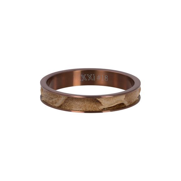 Bague crocodile