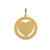 "Pendentif Cœur Grand ""Love is always the answer"" 5 Coloris - iXXXi"