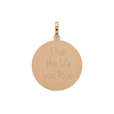 "Pendentif ""Live the life you love"" 3 Coloris - iXXXi"