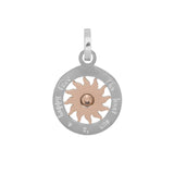 "Pendentif Soleil Moyen ""The best sun is an happy face"" 3 Coloris - iXXXi"