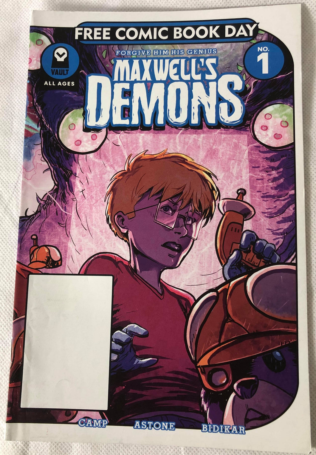 Maxwell's Demons #1 - Demize Collectibles LTD