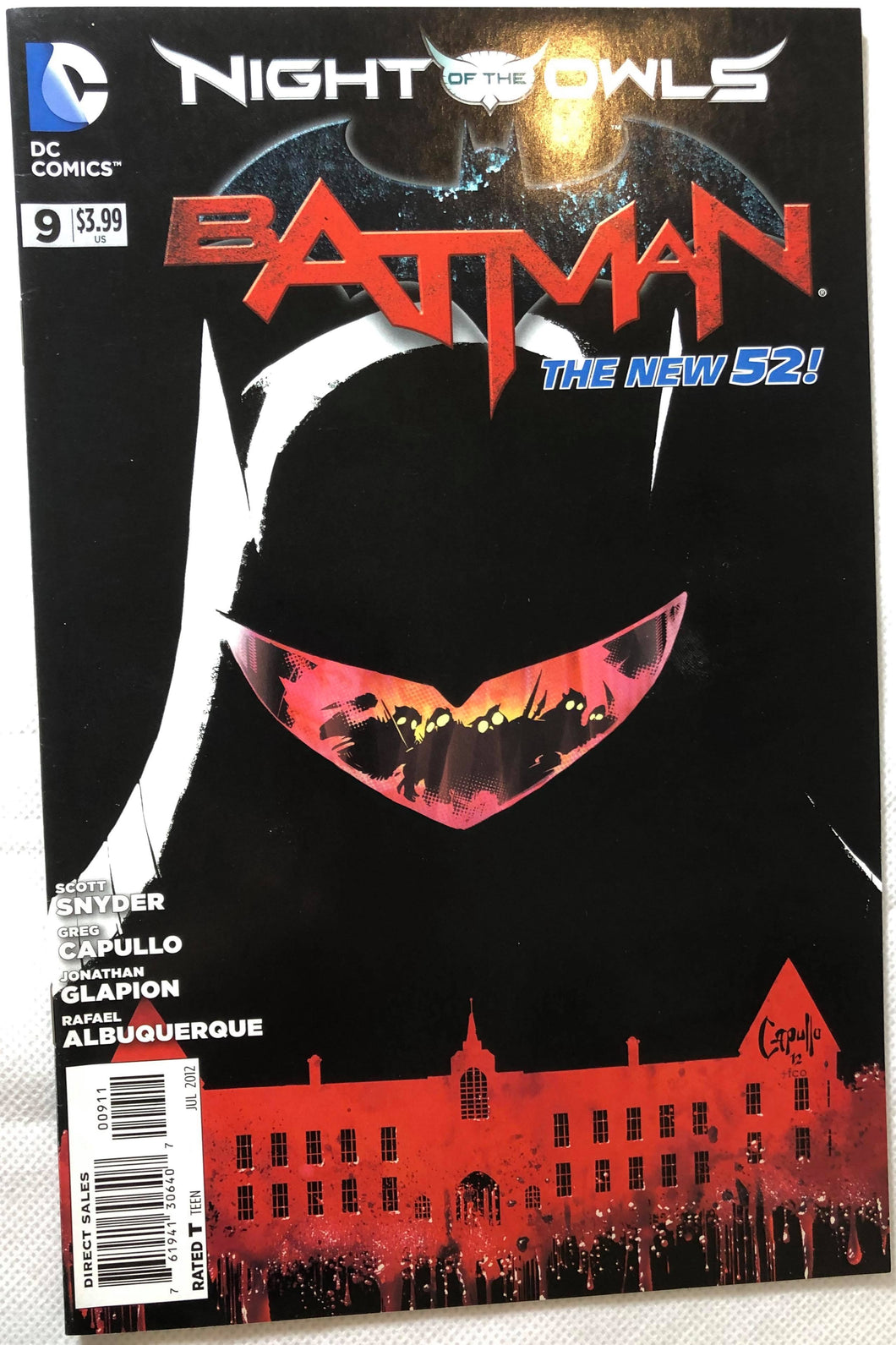 Batman #9 Night of the Owls The New 52! - Demize Collectibles LTD