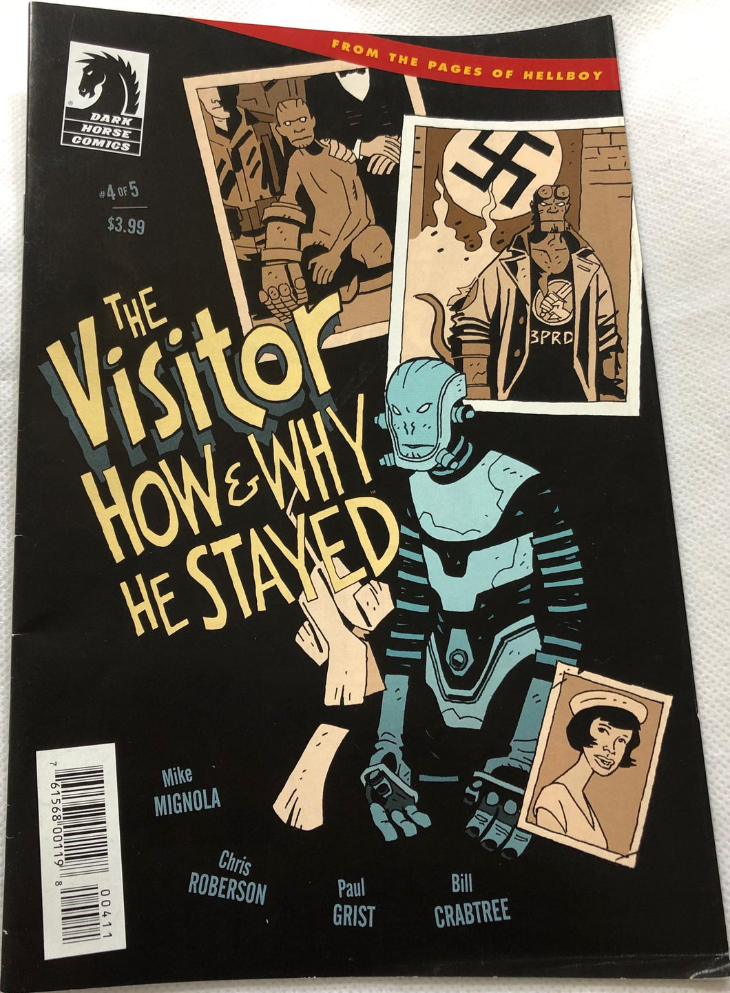 The Visitor How & Why He Stayed #4 - Demize Collectibles LTD