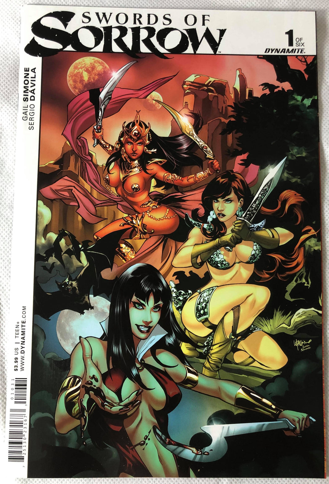 Swords of Sorrow #1 - Demize Collectibles LTD