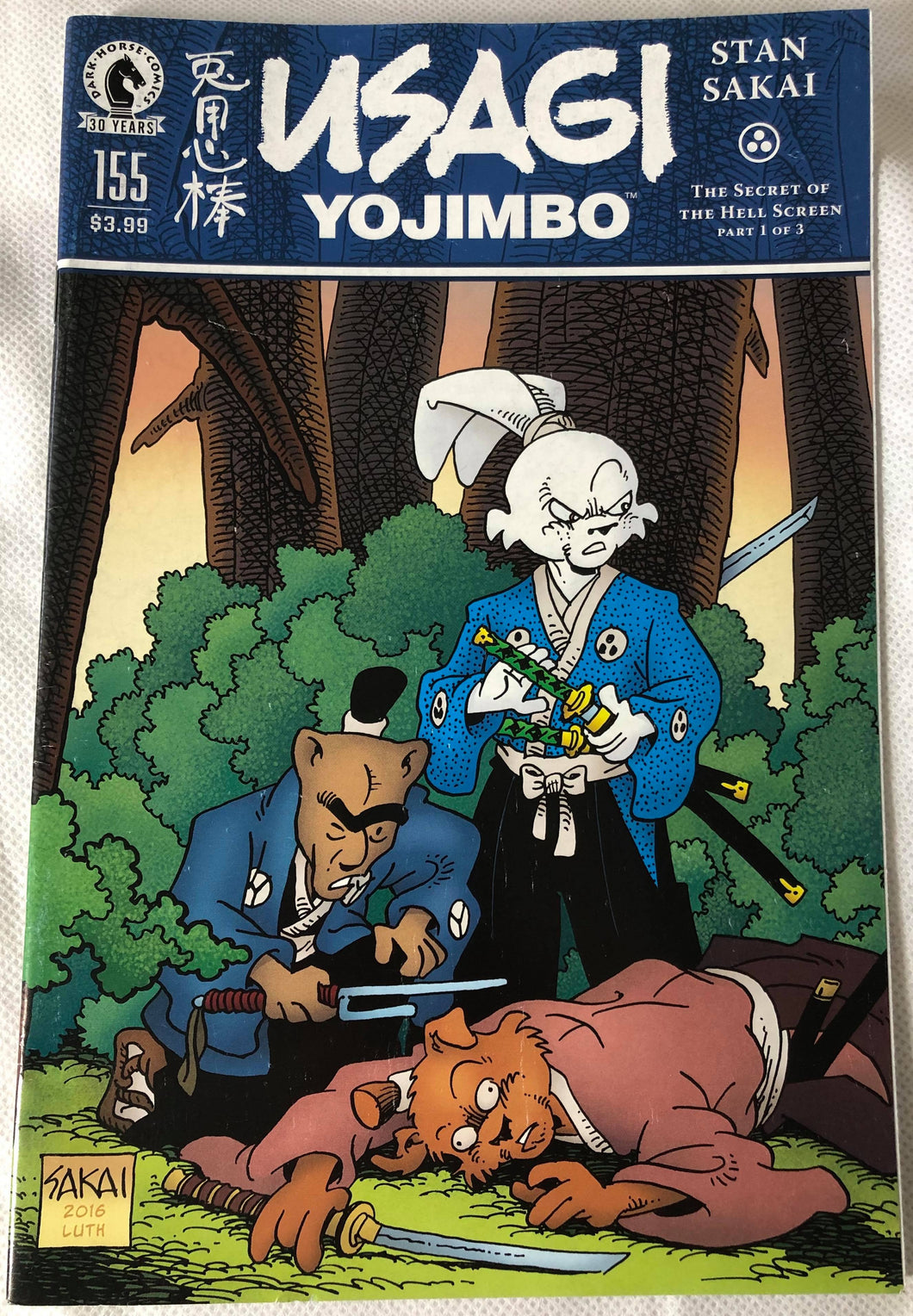 Usagi Yojimbo #155 - Demize Collectibles LTD
