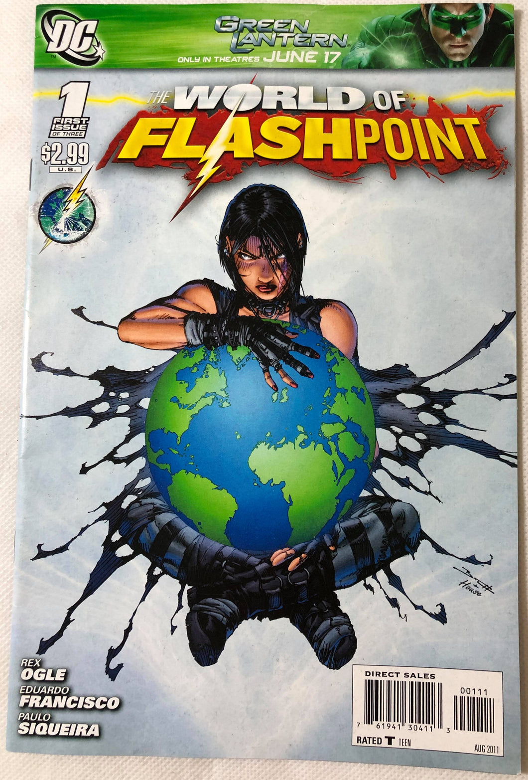 The World of Flashpoint #1 of 3 DC - Demize Collectibles LTD