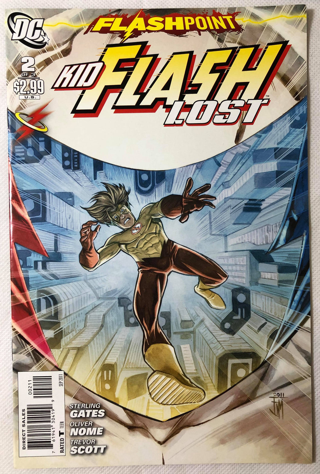 Kid Flash Lost #2 of 3 Flashpoint - Demize Collectibles LTD