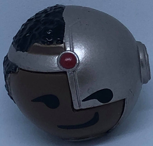 🤖 Mymoji DC Cyborg Smirk Funko Figure 🤖 - Demize Collectibles LTD