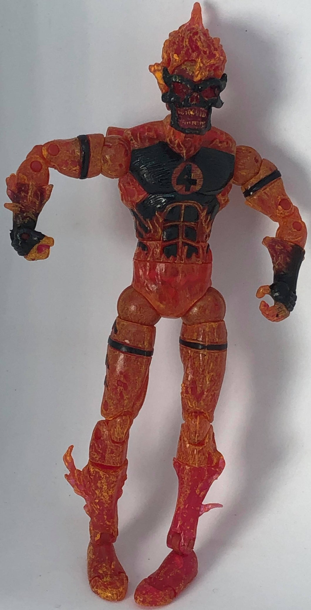 Marvel Legends House of M Human Torch 6