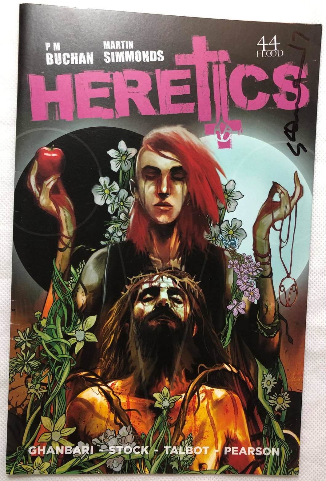 Heretics #0 Signed Comic - Demize Collectibles LTD