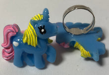 Load image into Gallery viewer, Blue Unicorn Ring - Demize Collectibles LTD