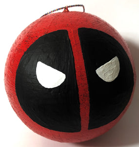 Deadpool Mask Face Bauble ⚔️ - Demize Collectibles LTD