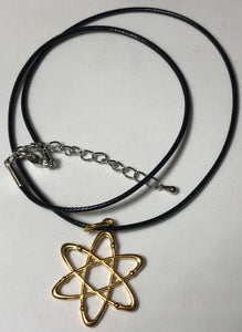 Atom Necklace - Waxed Cord - Demize Collectibles LTD