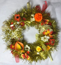 Load image into Gallery viewer, Gold Wreath