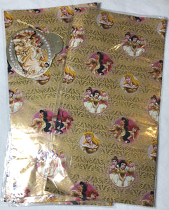 Disney Princess Wrapping Paper