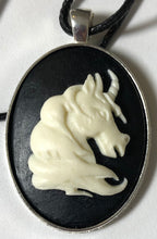 Load image into Gallery viewer, Large Cameo Unicorn Necklace - Demize Collectibles LTD