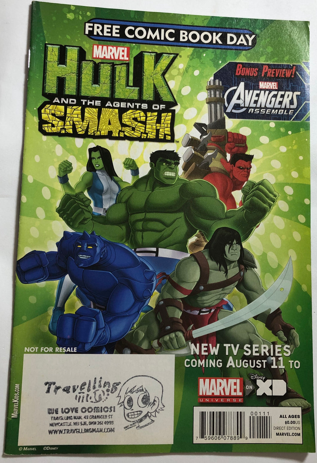 Hulk And The Agents Of S.M.A.S.H - Demize Collectibles LTD
