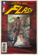 Load image into Gallery viewer, The New 52 Futures End The Flash #1 Lenticular Cover - Demize Collectibles LTD
