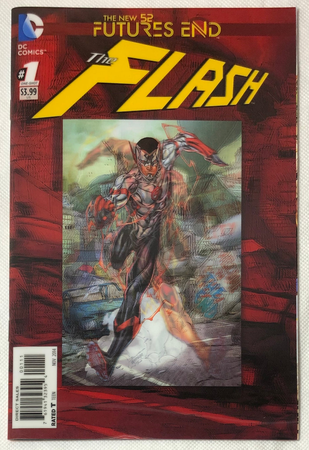 The New 52 Futures End The Flash #1 Lenticular Cover - Demize Collectibles LTD