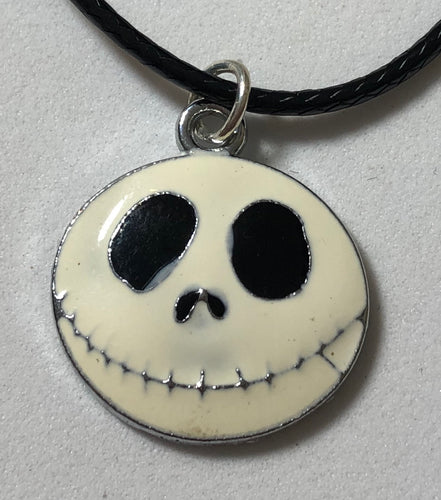 Jack Skellington Waxed Cord Necklace 🎃 - Demize Collectibles LTD