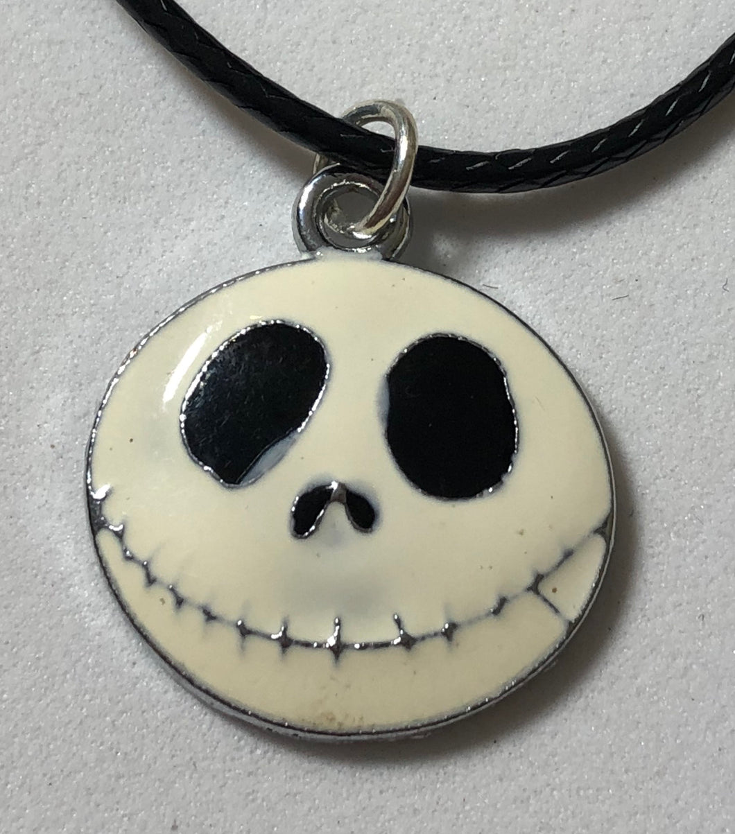 Jack Skellington Waxed Cord Necklace - Demize Collectibles LTD