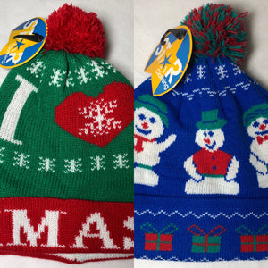 ☃️ Kids Christmas Bobble Hat