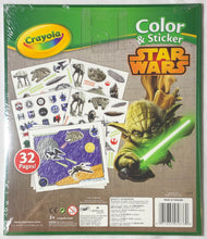 Load image into Gallery viewer, ✨ Crayola Color & Sticker Star Wars