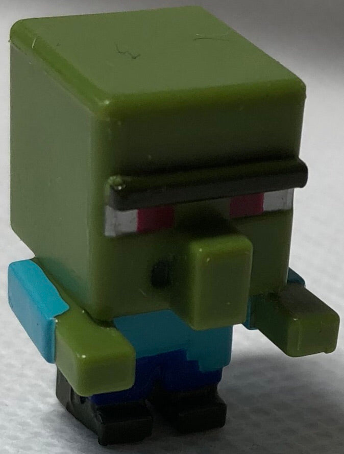 Zombie Villager Mini Series Minecraft - Demize Collectibles LTD