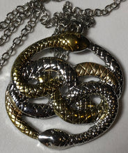 Load image into Gallery viewer, Auryn Infinite Snake Necklace