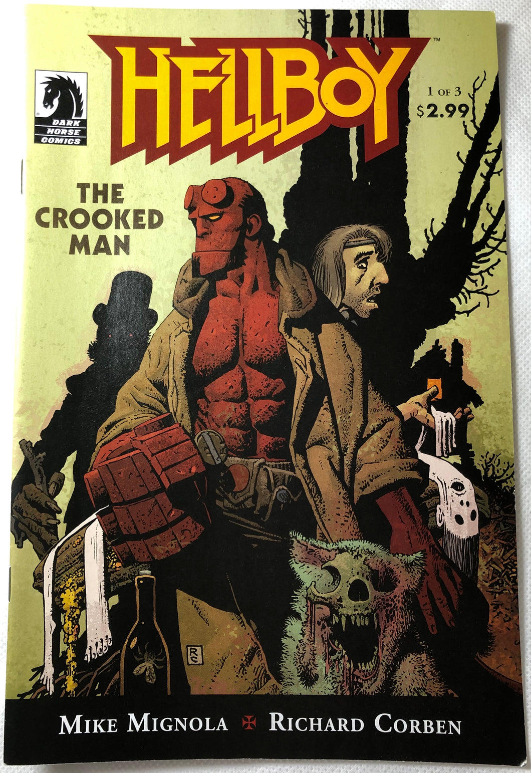 Hellboy The Crooked Man 1 of 3 - Demize Collectibles LTD