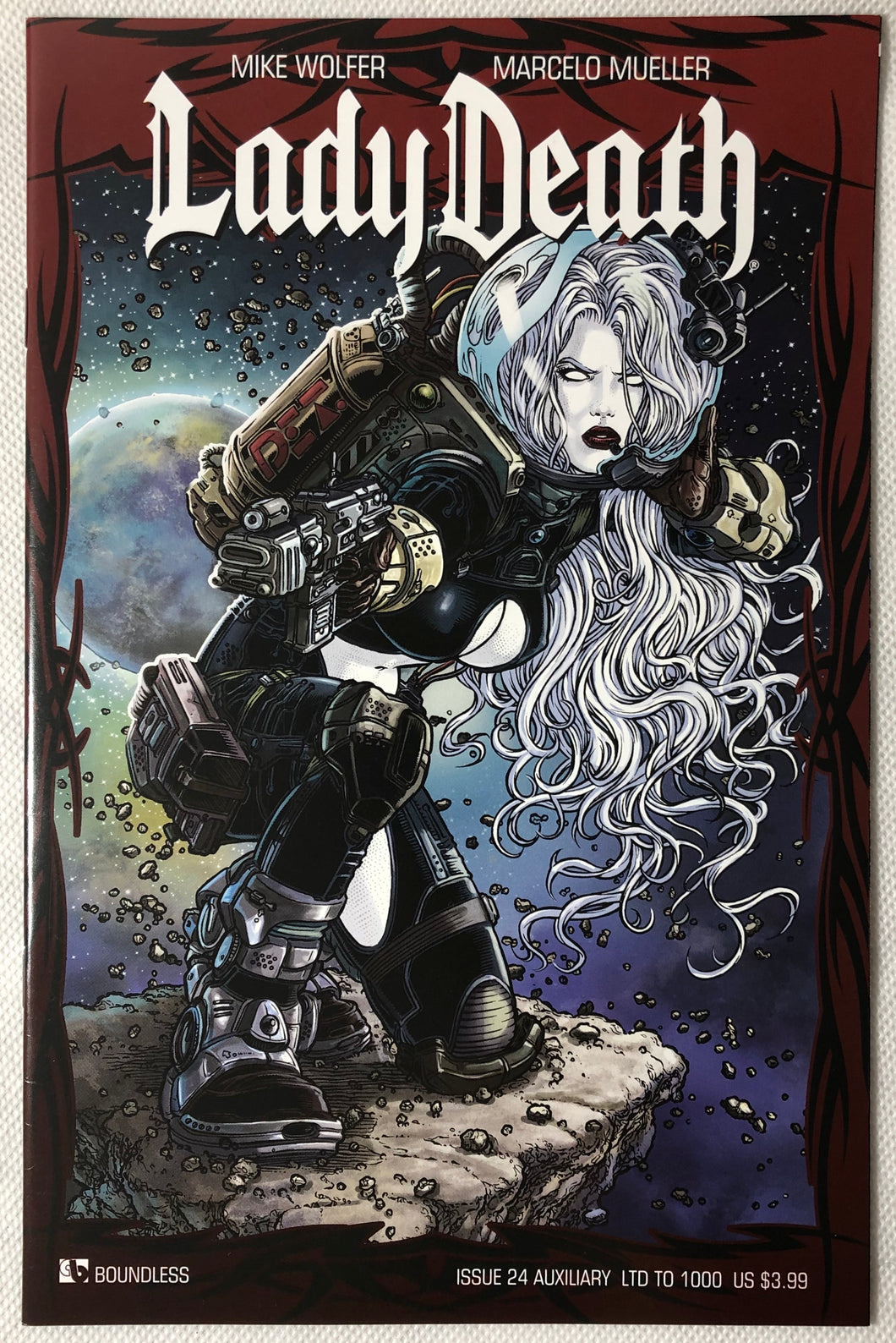 Lady Death Auxiliary #24 - Demize Collectibles LTD