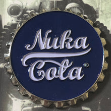 Load image into Gallery viewer, Nuka Cola Bottle Top Pin Badge Fallout - Demize Collectibles LTD