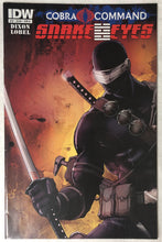 Load image into Gallery viewer, Cobra Command Snake Eyes #12 Cover B